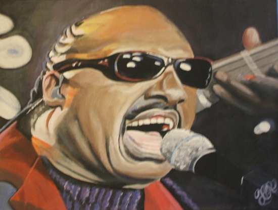 Stevie Wonder por kevrollins